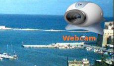 La nostra webcam panoramica sul porto.