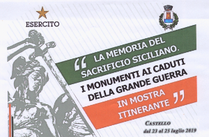 LA MEMORIA DEL SACRIFICIO SICILIANO